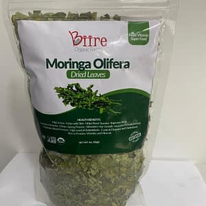 Moringa Oleifera Dry Leaves Pack 3 By Biire organic Foods