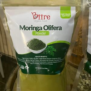 Moringa Oleifera Powder Pack 1 By Biire organic Foods