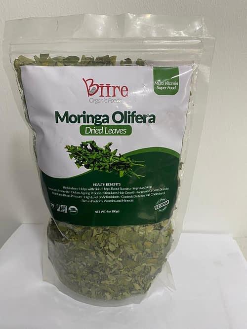 Moringa Oleifera Dry Leaves Pack 3 By Biire organic Foods