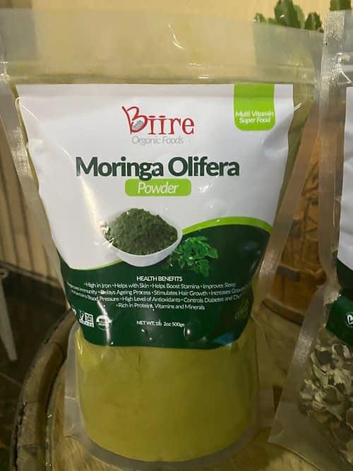 Moringa Oleifera Powder Pack 1 By Biire organic Foods